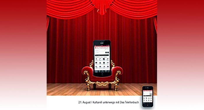 Werbung im Telefonbuch mobil
