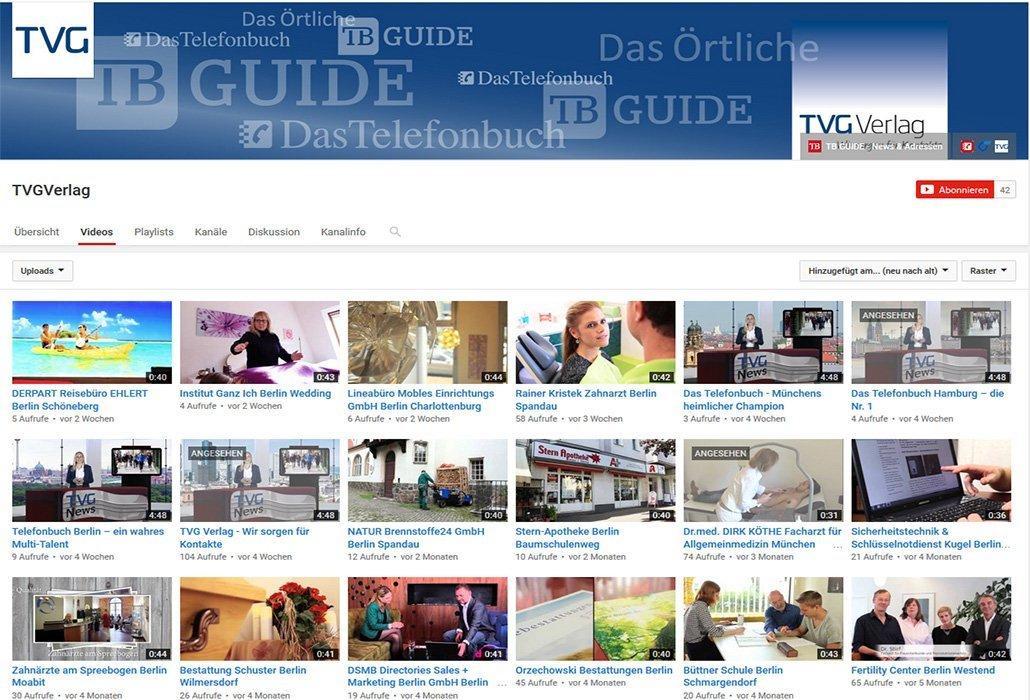Videos TVG Verlag