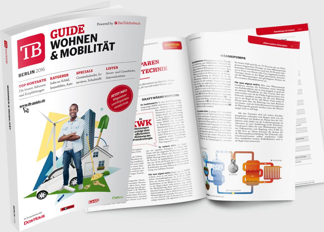 TB GUIDE Wohnen & Mobilität 2016 - der neue Wegweiser für Berlin