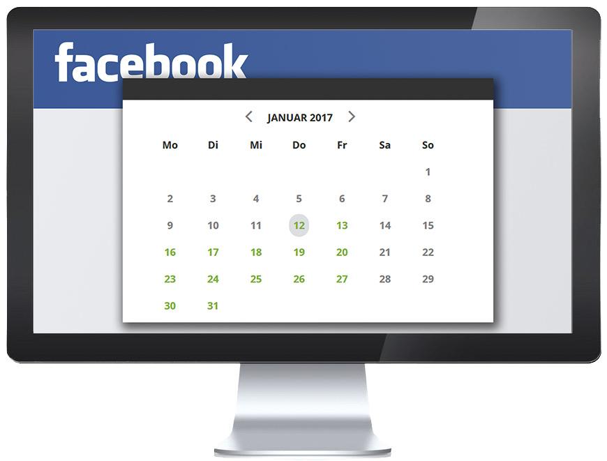 Terminbuchung Facebook