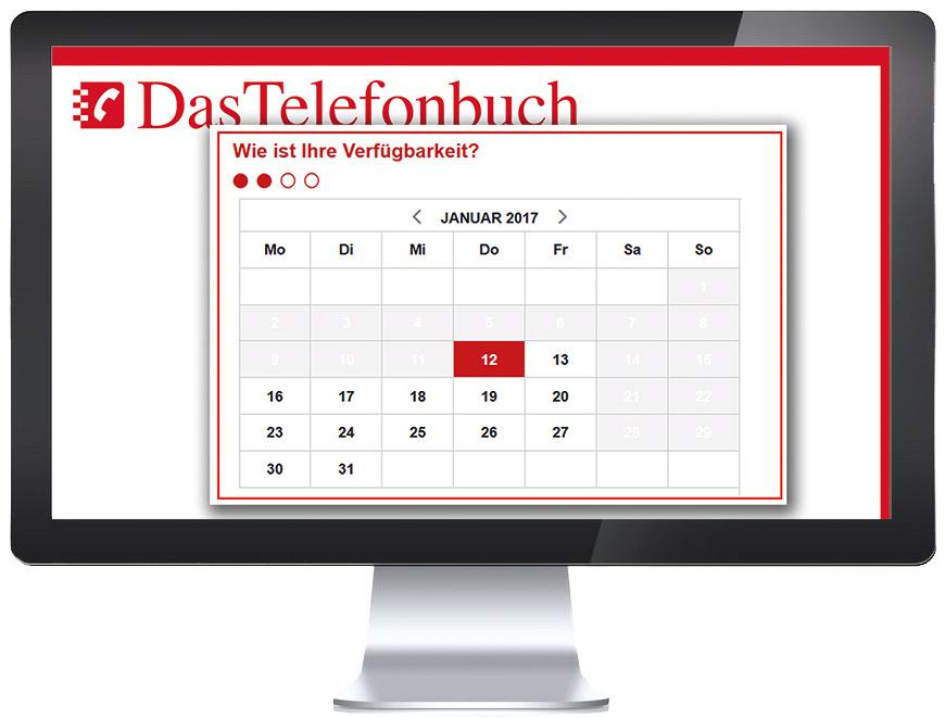 Terminbuchung Telefonbuch
