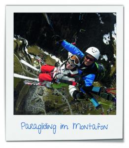 Paragliding im Montafon